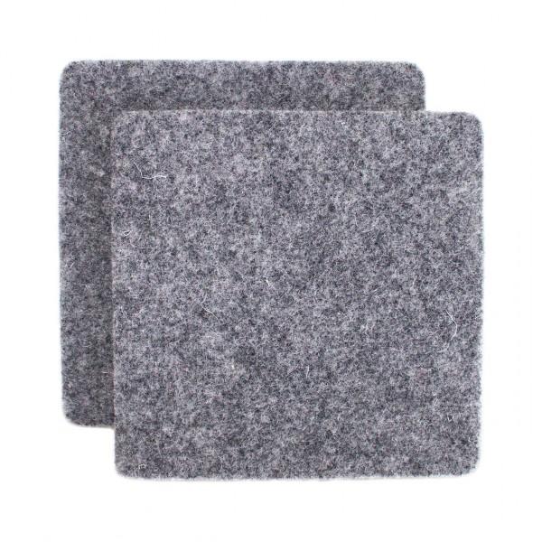 Untersetzer 10x10cm - neutral - 6er-Set