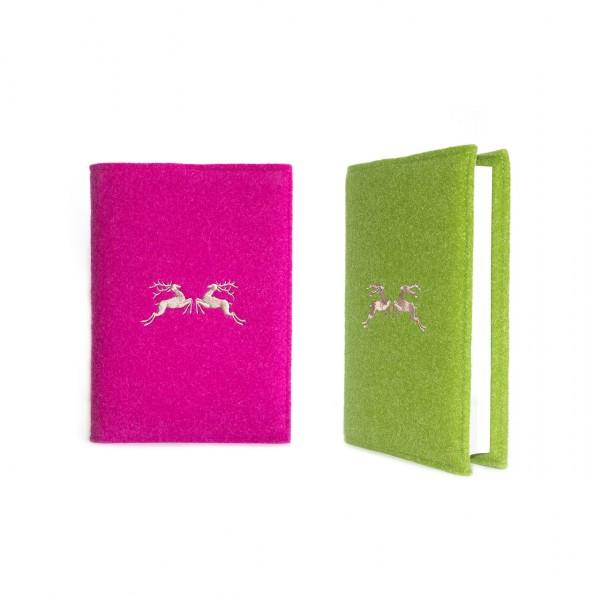 """Buchkalender DIN A5 – Stick """"Doppelhirsch"""""""
