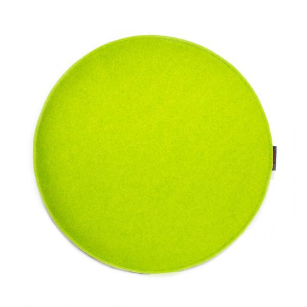 Sitzauflage Ø40cm - einfarbig