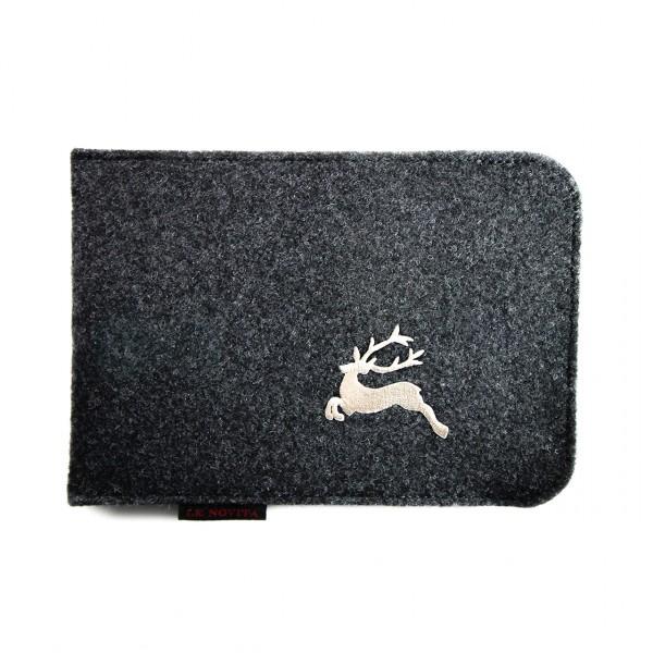 "Etui für iPad mini - Stick ""Hirsch"""