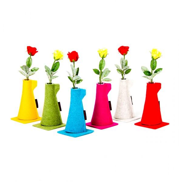 Blumenvase klein - neutral