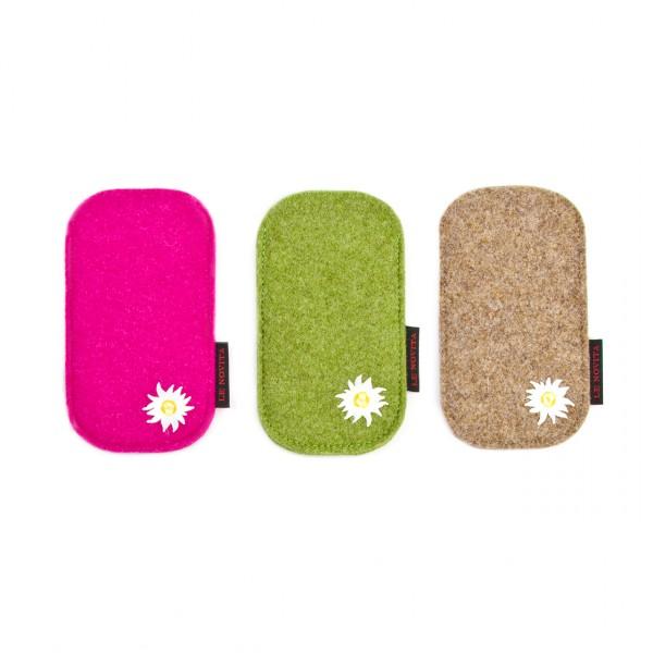 """Etui für iPhone 5 - Stick """"Edelweiss"""""""
