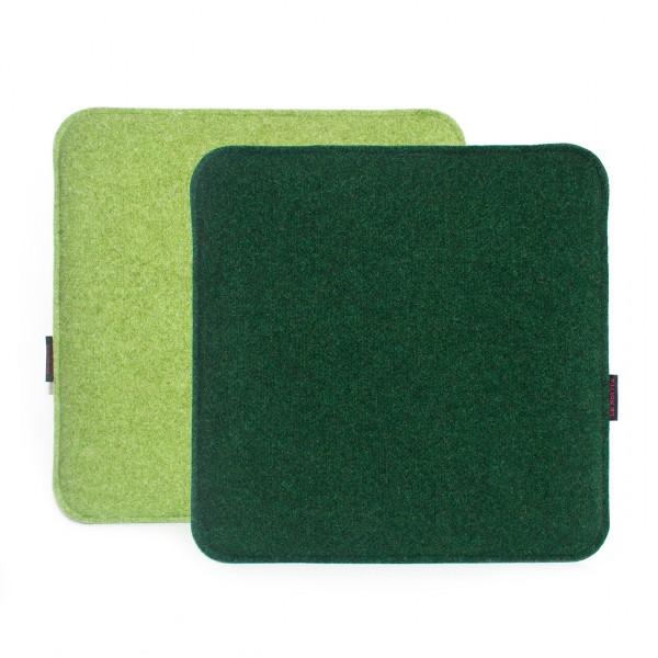 Sitzauflage 32x32cm - neutral zweifarbig