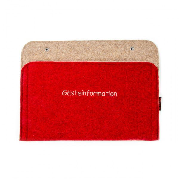 """Gästeinformationsmappe - Stick """"Standard"""""""