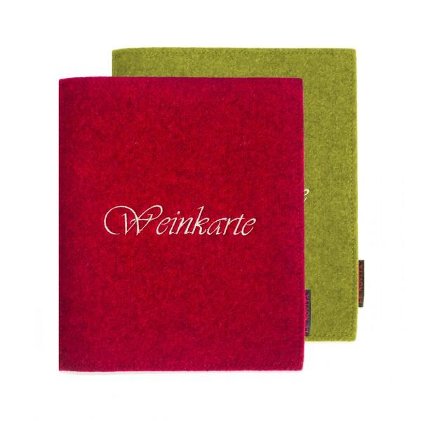 Weinkarte DIN A5