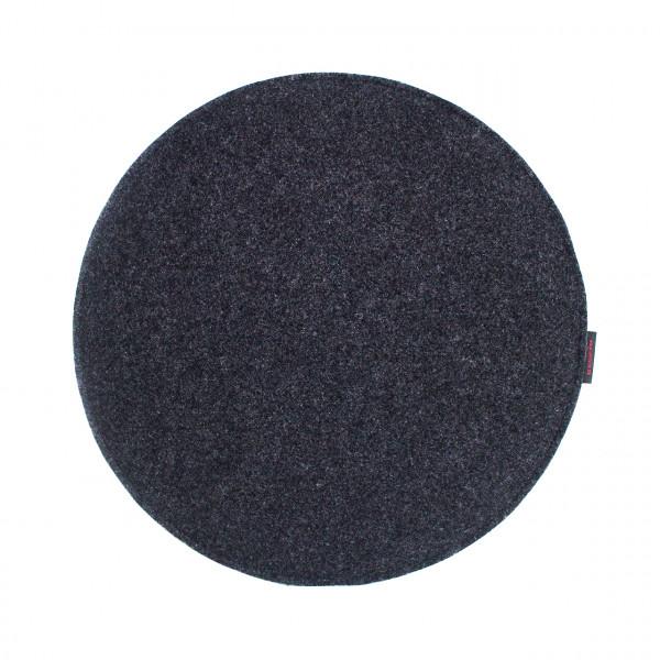 Sitzauflage Ø34cm - einfarbig